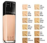 Maybelline Fit Me Liquid Foundation Classic Ivory 120 immagine