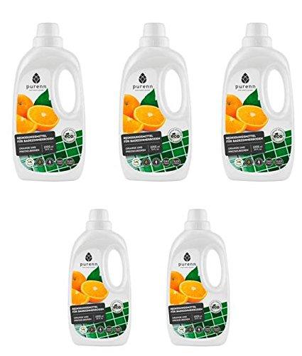 5-stc-x-1-litri-pulitore-piastrelle-lucido-con-arance-e-dem-preiselbeeren-estratto-di-bio-oeko-1-lit