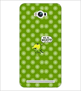 PrintDhaba Cartoon D-5005 Back Case Cover for ASUS ZENFONE MAX ZC550KL (2016) (Multi-Coloured)
