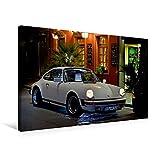 Premium Textil-Leinwand 75 x 50 cm Quer-Format Porsche 911 SC pure Ästhetik   Wandbild, HD-Bild auf Keilrahmen, Fertigb