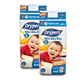 #9: Drypers Wee Wee Dry Large Size Diapers (Pack of 2, 44 Counts per Pack)