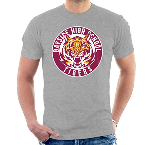 Bayside Tigers Saved By The Bell Sports Logo Men's T-Shirt (Bayside Tigers Bell)