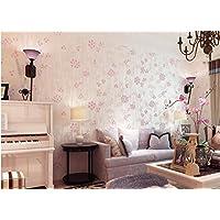 CNMDGBWY Landhausstil Anlage Samt Bronzing Non Woven Hintergrund Tapete Im  Wohnzimmer Schlafzimmer Gang,10702
