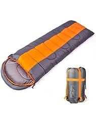 Camping saco de dormir interior y al aire libre adulto de dormir de invierno para mochila