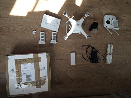 Preisvergleich Produktbild DJI Phantom 3 Professional Quadrocopter Drohne mit Zusatzakku