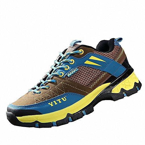 Ben Sports Calzature da escursionismo Scarpe da escursionismo Stivali da escursionismo da donna Uomo Beige