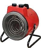 Heizlüfter BHP BG00465 Baustellenheizer 3000 Watt Rot Heizung Elektro
