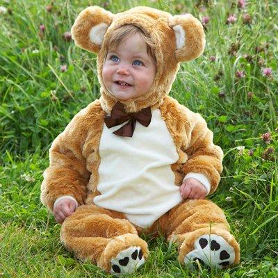Kleid bis Teddy Bär Baby/Kleinkind Kostüm, (Bär Teddy Kostüme Für Babys)