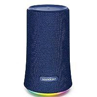 سماعة أنكر ساوندكور فلير 360 ستريو بلوتوث لاسلكية مضادة للماء 12 ساعة عمل - لون أزرق