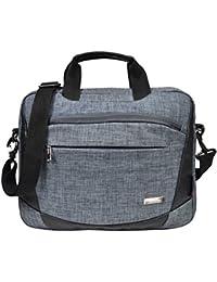 Murano Office Bag,Men'S Sling Bag,Document Carry Bag For 15.6 Inch Laptop Backpack (Grey)
