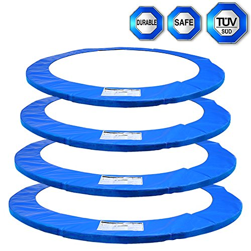 Replacement Trampoline Pad 8FT 10FT 12FT 13FT 14FT Foam Safety Guard Spring Cover Padding (8 10 12 13 14FT/ 245cm-427cm)-ULTRAPOWER SPORTS