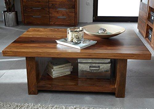 Table basse 120x85cm - Bois massif de palissandre laqué - DUKE #119