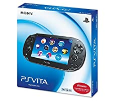 PlayStation Vita 3G/Wi-Fi Model Crystal Black Limited edition (PCH-1100AB01)