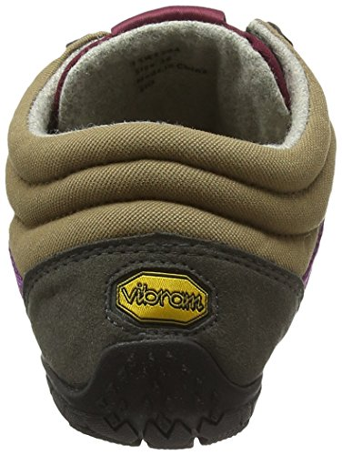 Vibram Five Fingers Trek Ascent Insulated, Chaussures Multisport Outdoor Femme Noir (Black/yellow)