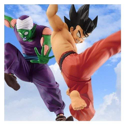 2x1 Figura Dragon Ball Match Makers Goku y Piccolo Banpresto