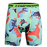 MOIKA Herren Sportshorts, Sommer Männer Sport Training Bodybuilding Sommer Shorts Workout Fitness Kurze Hosen Printed Workout Leggings Fitness Laufen Yoga Sportlich Short Pants(M,Blau)