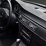 YONGYAO Auto Moto Finestra Telefono 3D Fibra Di Carbonio Vinyl Film Foglio Di Stoffa 12