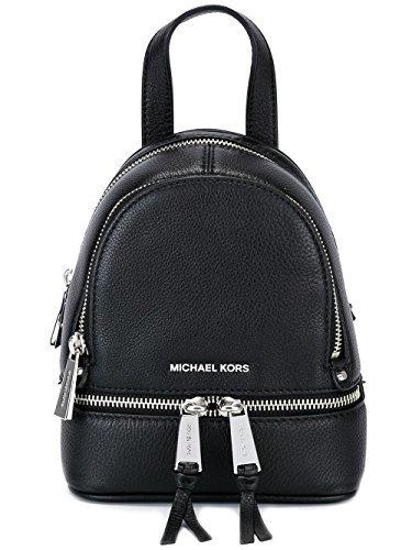 Michael Kors - Bolso mochila de Piel para mujer negro negro
