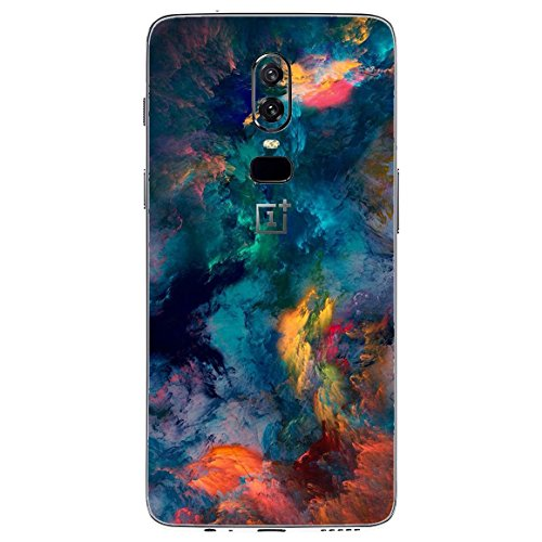 Gadgets WRAP -Co- One Plus 6 Vinyl Only Back Customised Mobile Skin – Effect