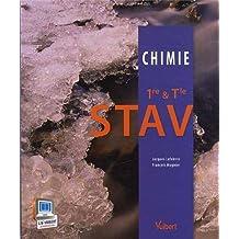 Chimie 1re & Tle STAV - Nouveau programme