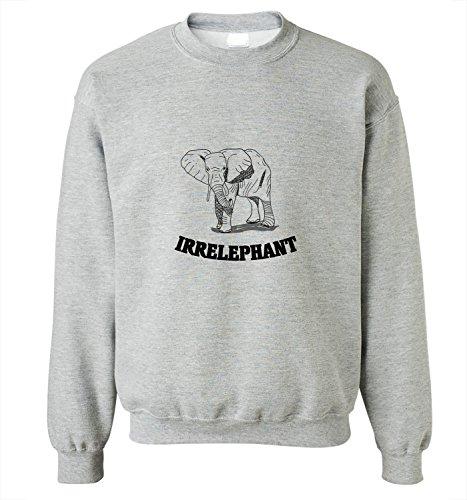 camisa-de-entrenamiento-para-mujer-con-la-impresion-del-hand-drawn-irrelephant-elephant-illustration