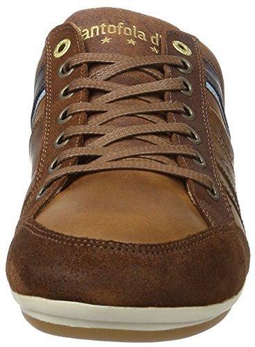 Pantofola d'Oro Herren Allassio Uomo Low Sneaker Braun (Tortoise Shell)