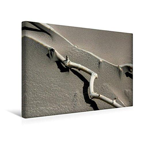 Calvendo Premium Textil-Leinwand 45 cm x 30 cm quer, Sandflug | Wandbild, Bild auf Keilrahmen, Fertigbild auf echter Leinwand, Leinwanddruck Orte Orte