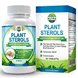 Plant Sterols - with 800mg Sterols - Maximum Strength Supplement For Men & Women - 90 Tablets