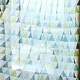 Aulley Dreieck-Blockade-Fenster Vorhang verdicken Stoff Kinder Vorhang Eyelet