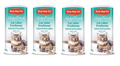 4 areneros arena gatos Boba Martin Stay Fresh bebé