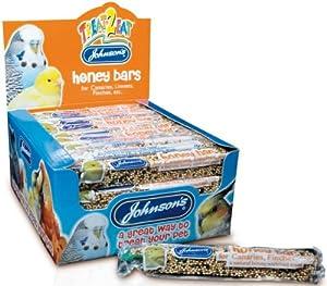 Canary & Finch Honey Bar Bird Treat 35g - Johnsons (TP)(JCB)(FULL BOX 40) from Pet-Bliss