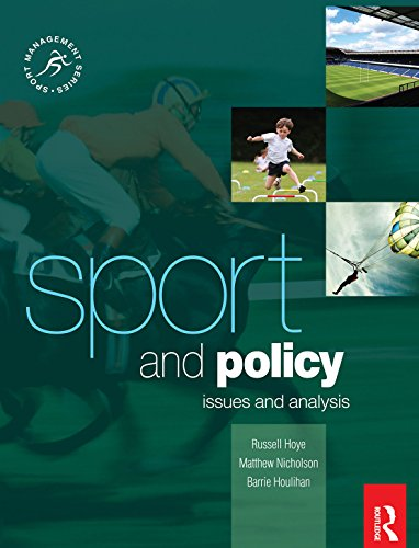 Sport and Policy (Sport Management Series) (English Edition ...