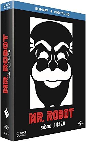 Mr. Robot - Saisons 1 & 2 [Blu-ray + Copie digitale] [Import italien]