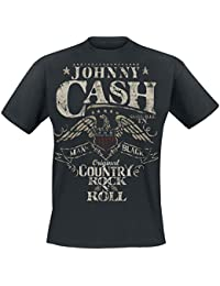 Johnny Cash Original Country Rock n Roll T-Shirt black