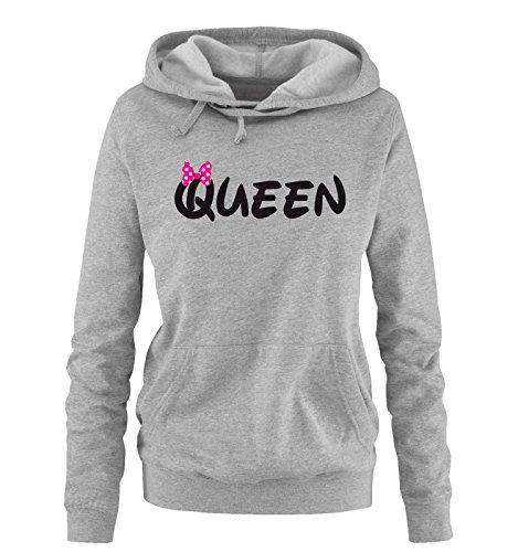 Comedy Shirts - Queen - Comic - Damen -