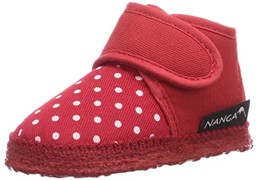 Nanga Bella, Chaussons courts, non doublées fille Rouge - Rot (Rot 20)