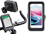 Navitech Cycle/Bike/Bicycle & Motorbike Waterproof holder Mount & Case Suitable For The Samsung Galaxy S9 Plus