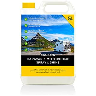 Pro-Kleen Spray & Shine Caravan/Motorhome Cleaner for Outside/Exterior (1 x 5L)