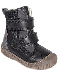 Move by Melton Kinder Unisex TEX-Boot mit Wollfütterung - Zapatos primeros pasos de cuero para niño