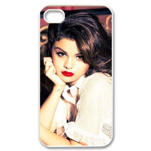 LP-LG Phone Case Of Selena Gomez For Iphone 4/4s [Pattern-6] Pattern-4