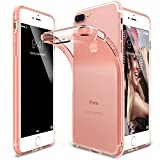Custodia iPhone 7 Plus, Ringke [AIR] Senza Peso Come Air, Estrema Coperchio di Protezione Resistente Leggero Ultra-Sottile Trasparente TPU Flessibile Scratch per Apple iPhone 7 Plus 2016 - Rose Gold Crystal