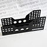 Black Bucket Seat Side Mounts/Brackets Cobra Race/Rally/FIA/MSA Pair - FOREST by Speedpro