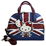 Hello Kitty England Flag Borsa da Donna Bauletto Bowling Bugatti - Hello Kitty - amazon.it