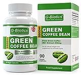G-Biotics Grüne Kaffee Bohnen Extrakt Kapseln ~ EXTRA HOCHWERTIGE Nahrungsergänzung