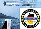 574mm x 64mm x 57mm Aromaschiene aus Edelstahl / Flammenabdeckung / Grillblech / Flammenverteiler – super Ersatzteil (574-64-57-1)