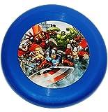Unbekannt 1 Stück _ Frisbee Scheibe - Wurfscheibe -  Avengers Assemble  - Ø 23,5 cm - für Kinder / Erwachsene / Hunde - Kindergeburtstag - Schwebedeckel - Disc - Wurf..