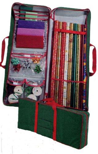 master-craft-gift-wrap-storage-bag-green