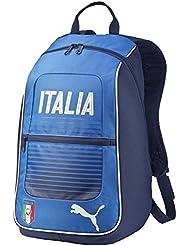 Mochila, diseño de la bandera de Italia, color azul