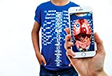 Curiscope Virtuali-Tee | Lehrreiches Augmented-Reality-T-Shirt | Erwachsene L