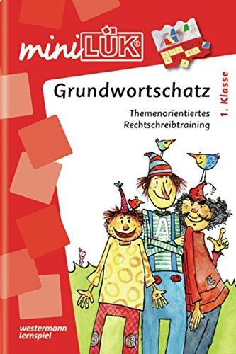 miniLÜK-Übungshefte / Deutsch: miniLÜK: 1. Klasse - Deutsch: Grundwortschatz